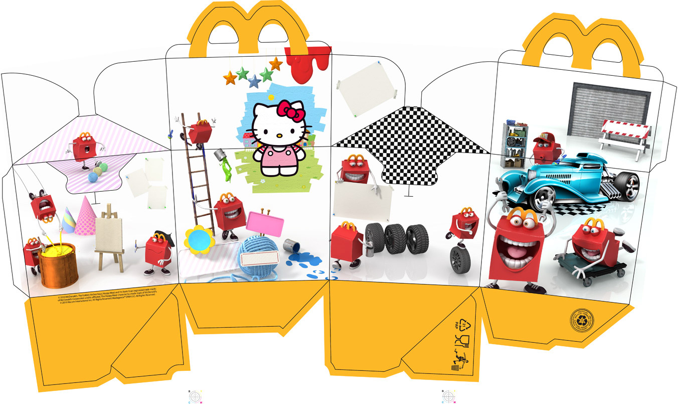 Meal Happy Template Box Mcdonalds Gave Us Something